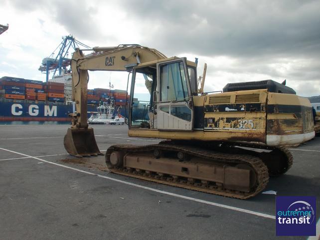 Transit maritime engin La Reunion
