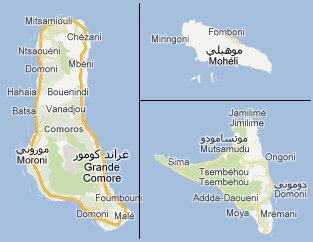 Déménagement Comores et transport maritime véhicules Comores