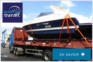 Transport maritime de bateaux Outre Mer
