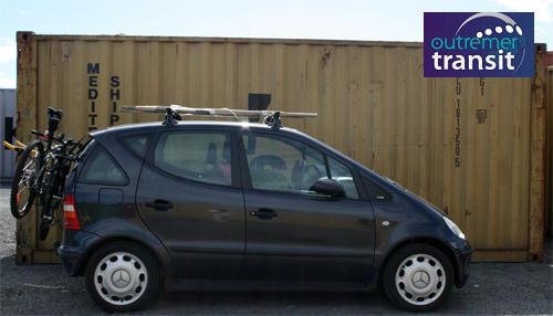 Transport voiture Réunion-Métropole