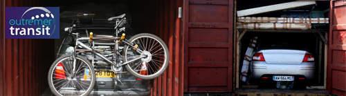 Transport de voiture Reunion en conteneur maritime