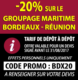 Promo 20% Reduction Bordeaux Reunion