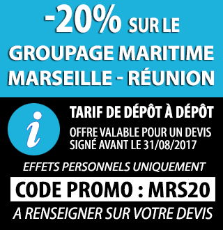 Promo 20% Reduction Marseille Reunion