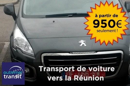 Envoyez votre voiture au meilleur prix àla Réunion