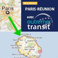 Groupage maritime Réunion depuis Paris