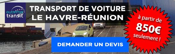 promotion transport voiture Réunion