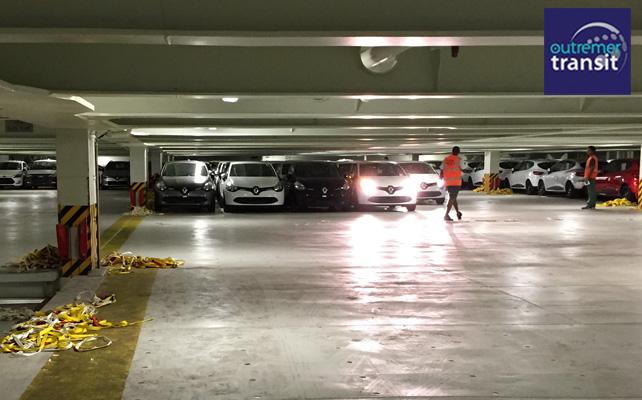 Sortie des véhicules Ro-Ro à la Réunion